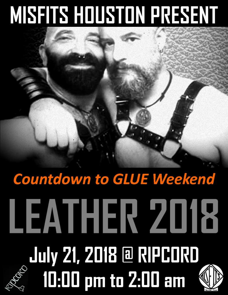 July 2018 Bartending - LEATHER